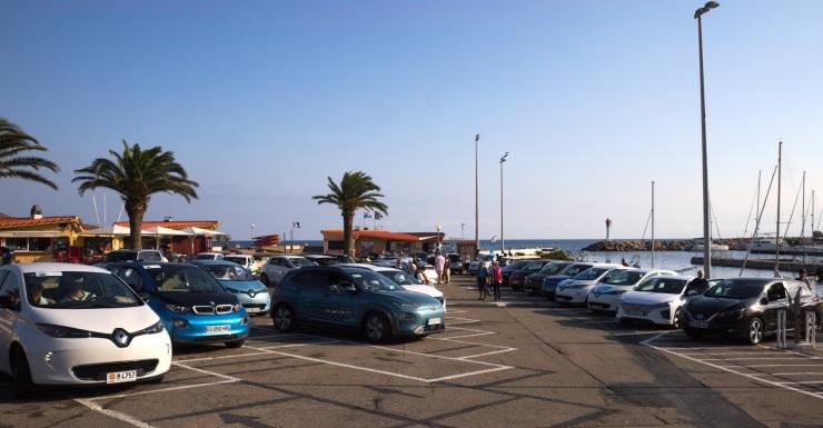 Départ du Rallye Cote Catalane sur le port de Banyuls rogné